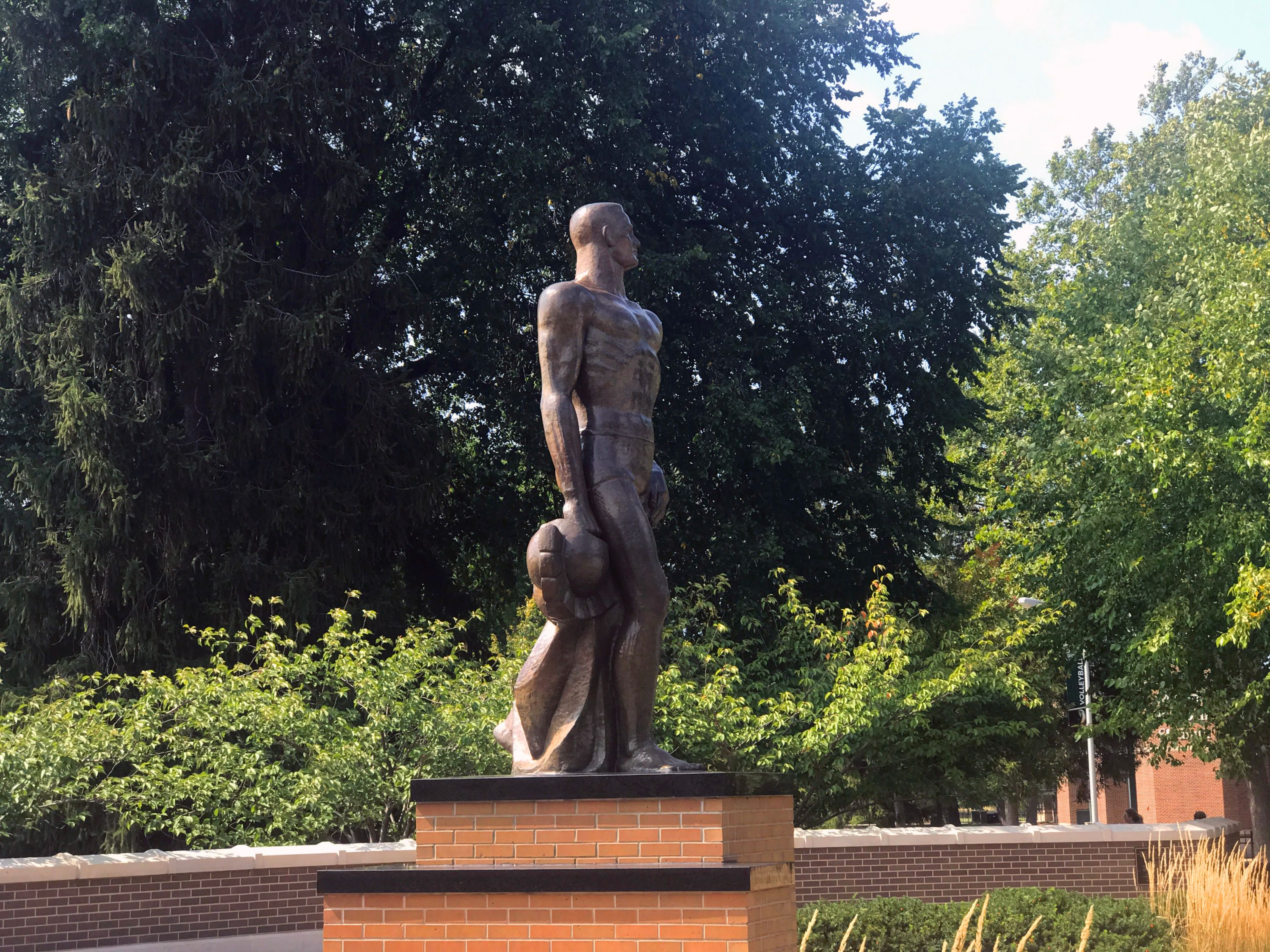 Image of Sparty statue